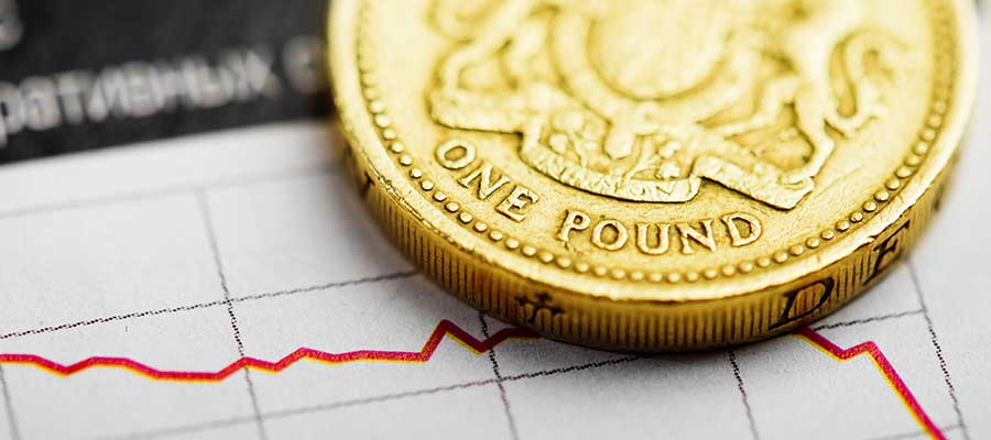 Sterling falls to 2 and half year low as no-deal Brexit becomes real possibility
